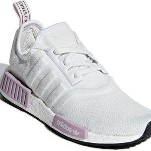 Adidas NMD R1 White/Purple NWT